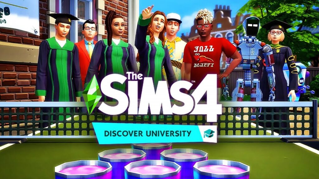 THE SIMS 4 DISCOVER UNIVERSITY Torrent